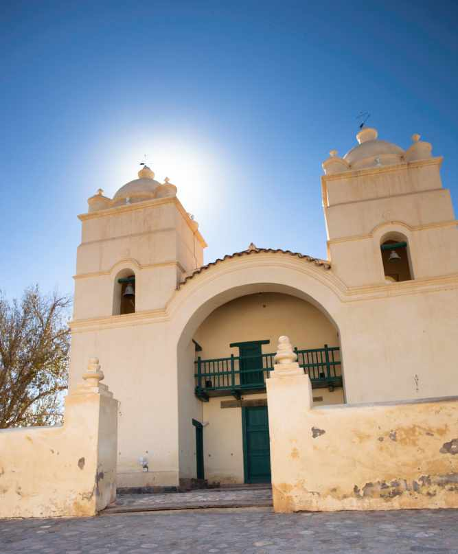 Church opposite Hacienda de Molinos Ⓒ Jimmy Baikovicius/Flickr