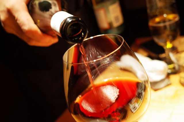 Red wine   © Hideya Hamano/Flickr