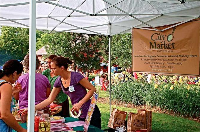 Farmer's Market in Vermont