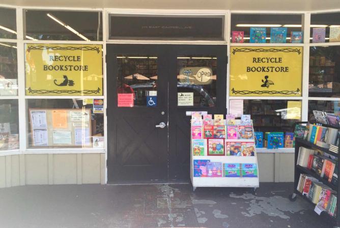 Recycle Book Store | © Kristine Xu