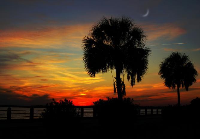 Charleston sunset   © Charleston, SC/Flickr