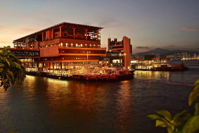 The Hong Kong Macau Ferry Pier in Sheung Wan © johnlsl/Flickr