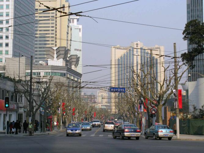 Jing'an District in Shanghai © Baycrest/WikiCommons