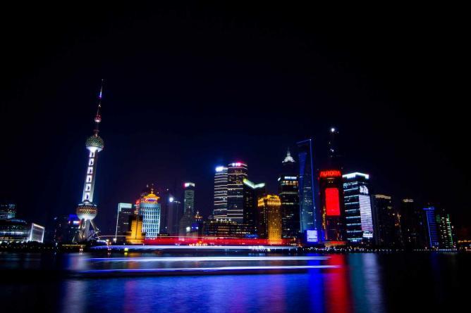 Pudong District in Shanghai © Sergio Tittarini/Flickr