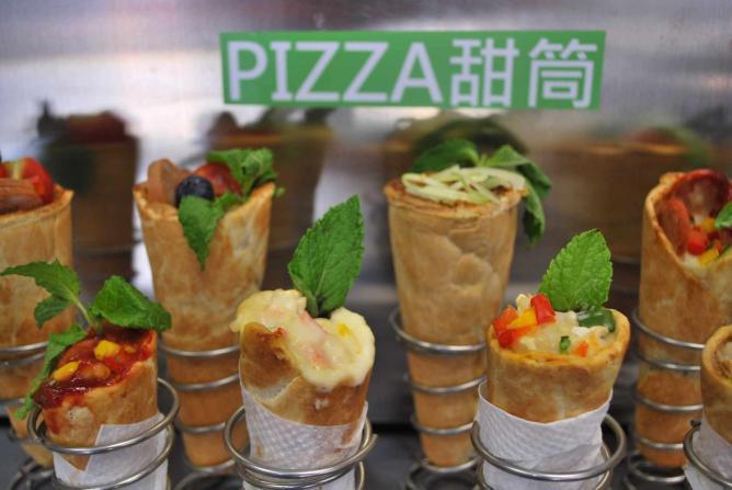 Pizza Cones | Image courtesy of ZeeZee