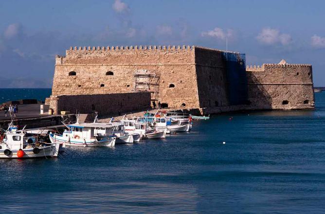 Heraklion fortress | © ggia/WikiCommons