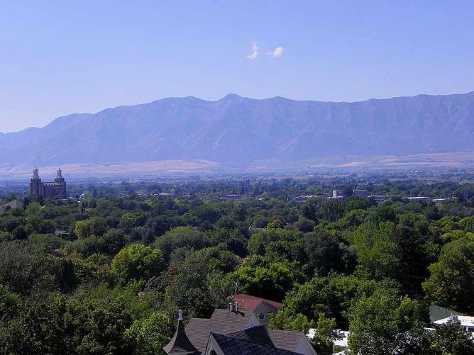 Cache Valley | © Utah Stizzle/WikiCommons