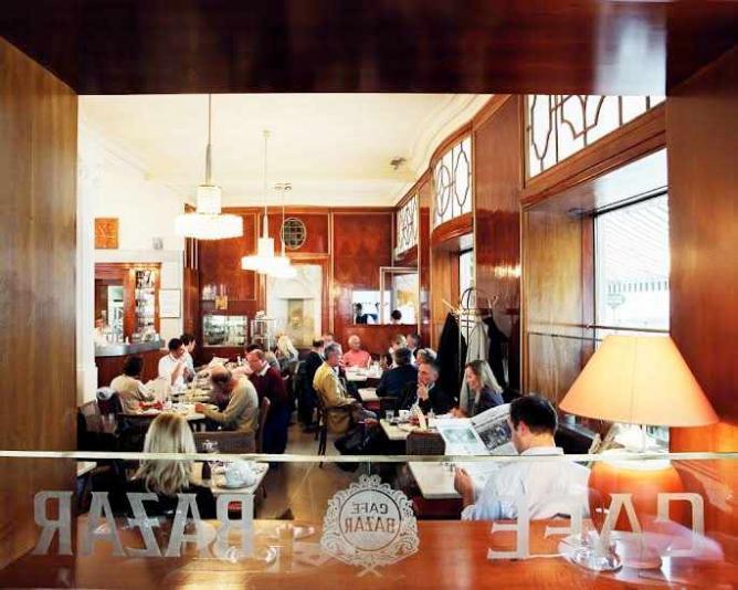 Cafe Bazar interior I courtesy of Cafe Bazar