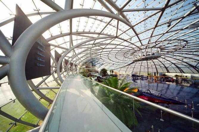 Hangar 7 interior