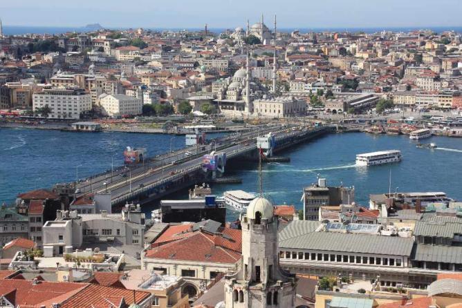 Galata Bridge   © Rrburke/WikiCommons