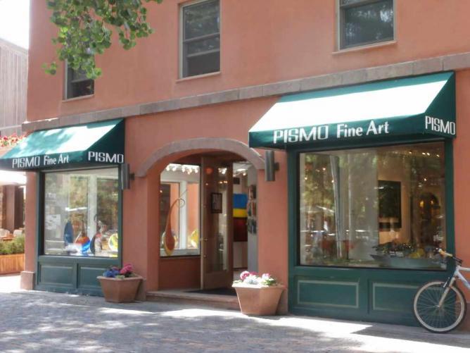 an Aspen art gallery
