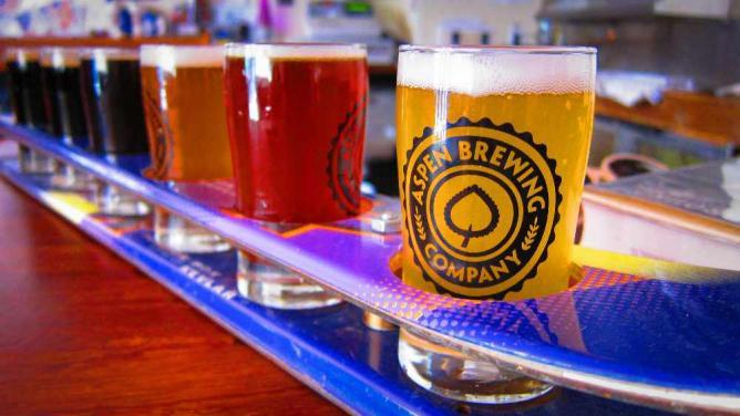 Beer line-up