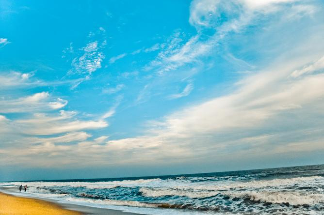 Pondicherry beach | © Praveen/Flickr