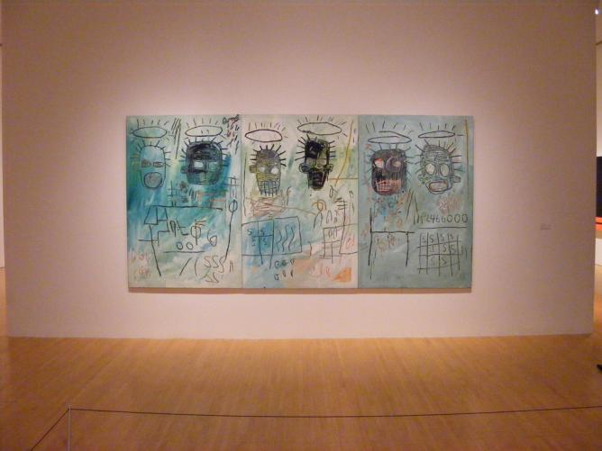 Six Crimee, Jean-Michel Basquiat | © Matt Robinson/Flickr