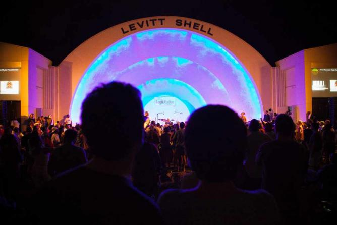 Levitt Shell | © Sean Davis/Flickr