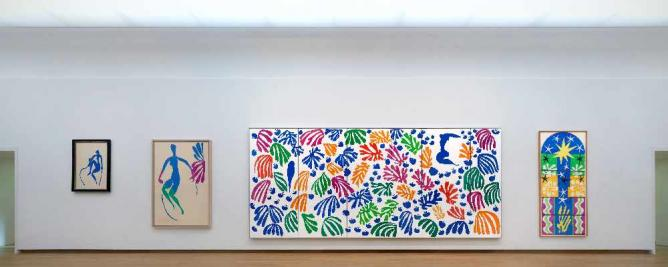 The Oasis Of Matisse, Installation View. Photo: Gert Jan Van Rooij. (C) Succession H. Matisse, c/o Pictoright Amsterdam 2014