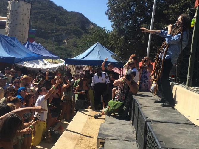 Alborosie Headlining at Reggae on the Mountain 2015  | © Jasmine Ashoori