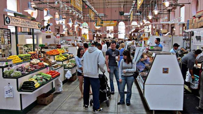 Eastern Market interior