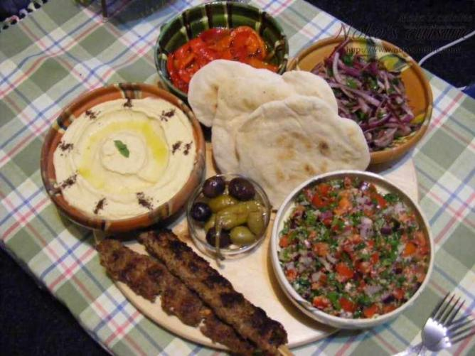 Lebanese food | © Noko's Cuisine/Flickr