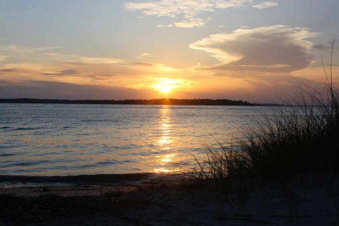 Edisto Beach sunset   © Courtney McGough