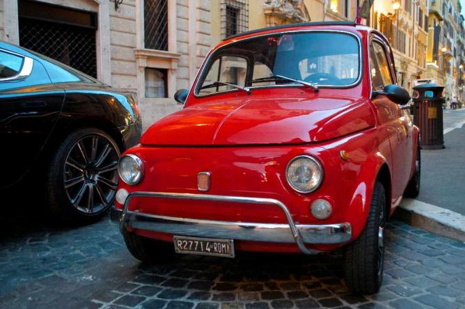 Typical Italian style on the streets of Rome | Courtesy of Stefan Hunt
