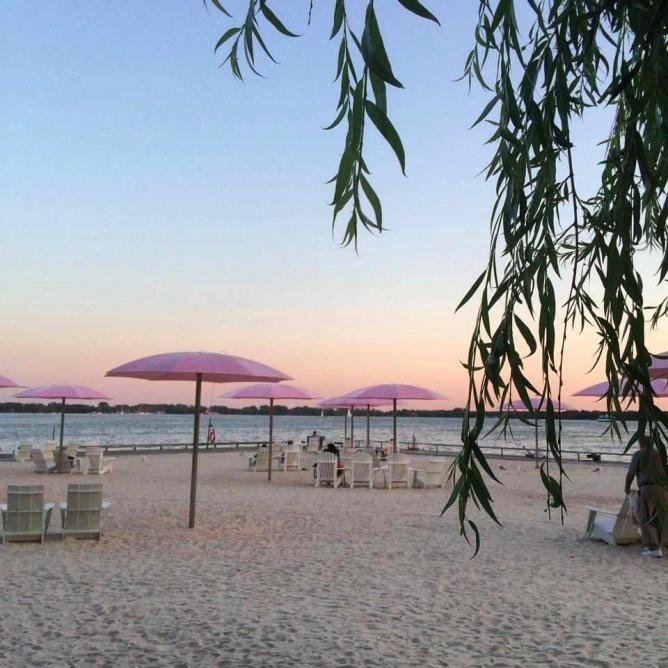 Sunset at Sugar Beach