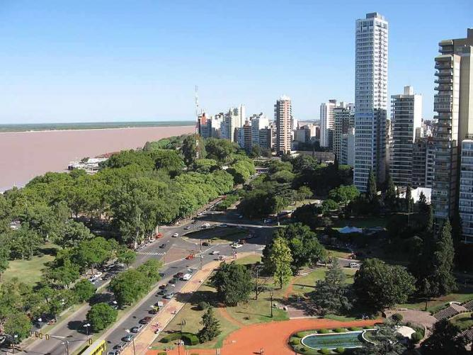 Rosario and the river Paraná   Ⓒ Belgrano/WikiCommons