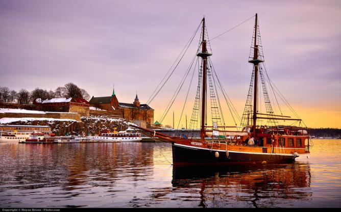 Oslo harbor © Moyan Brenn/Flickr