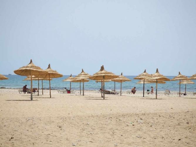 Hammamet beach | © Joffrey Lacour/Flickr