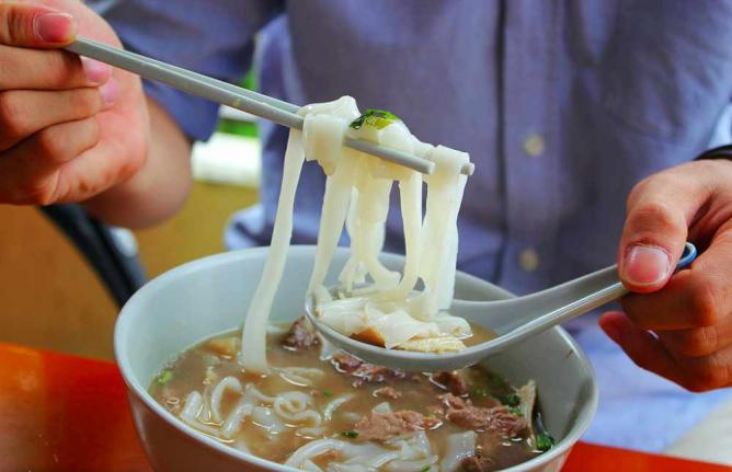 Hainanese beef noodles | © Richard Lee/Flickr
