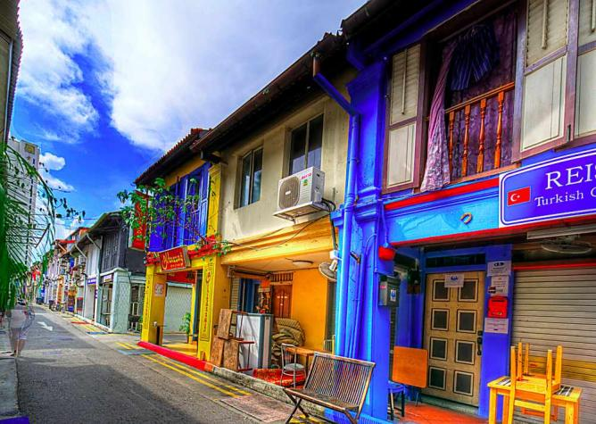 Haji Lane houses | © Nic/Flickr