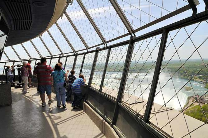 Skylon Tower Observation Deck