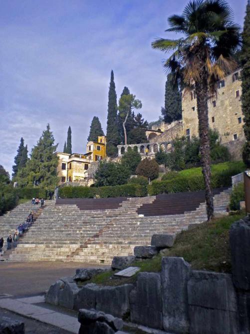 Teatro Romano and ruins