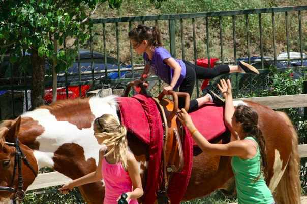 LA Equestrian Vaulting Club Clinic   © Los Angeles Equestrian Vaulting Club