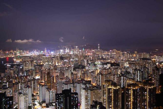 The night in Hong Kong © Rick Chan/Flickr