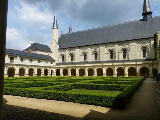Abbaye de Fontevraud | © Aurore Defferriere/WikiCommons