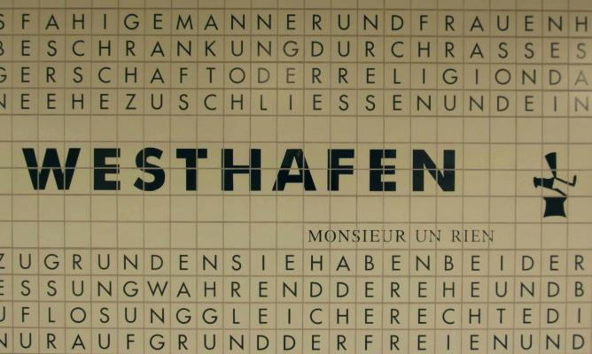 Westhafen U Bahn Station | ©Ingolfbln/Flickr