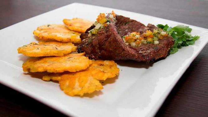 El Asador meal | Courtesy of El Asador