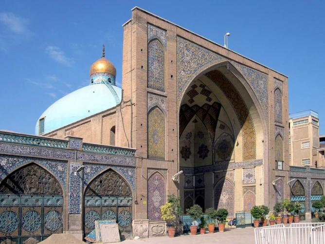 Imam Komeini Mosque, Tehran | © David Stanley/Flickr