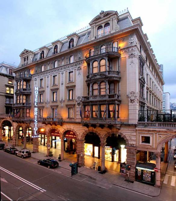 Genoa's Hotel Bristol Palace | © HotelBristolPalaeGenova/Flickr
