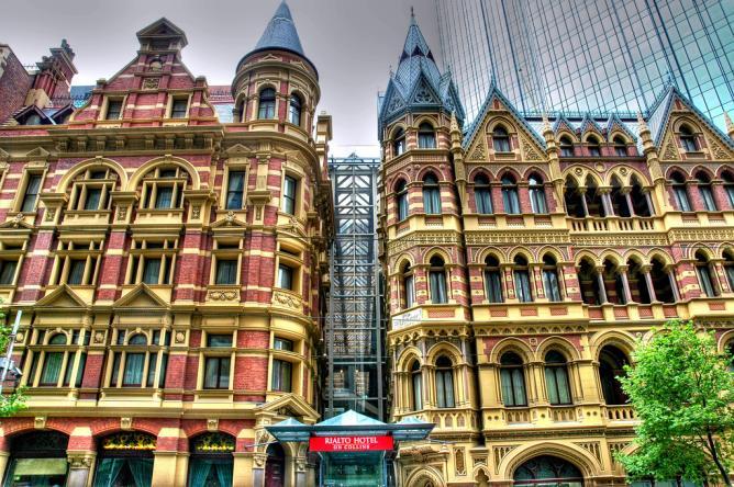 Melbourne architecture © Alan Lam/Flickr