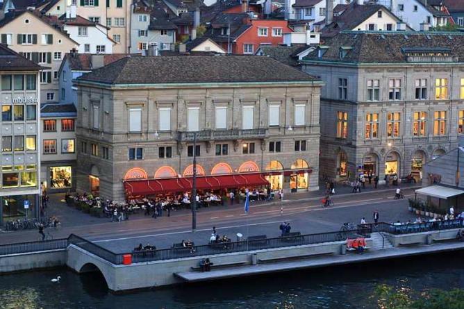 Café in Zürich I © Roland zh/WikiCommons