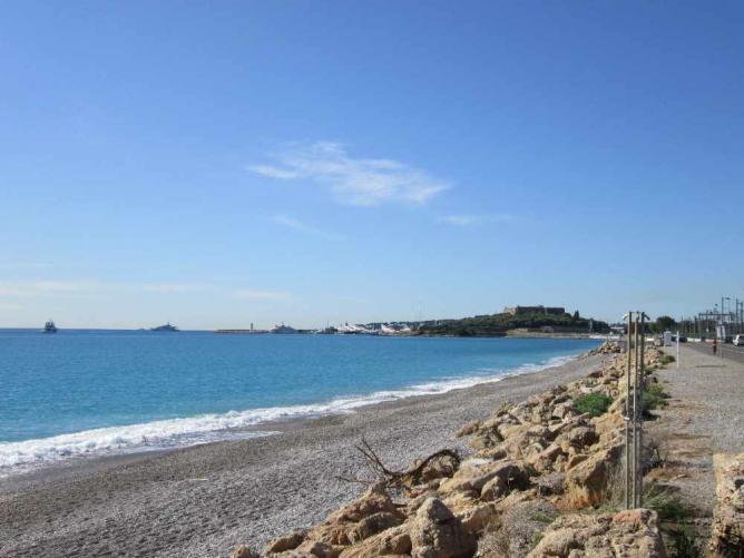 A beach at Antibes