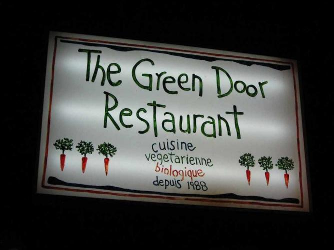 The Green Door Restaurant