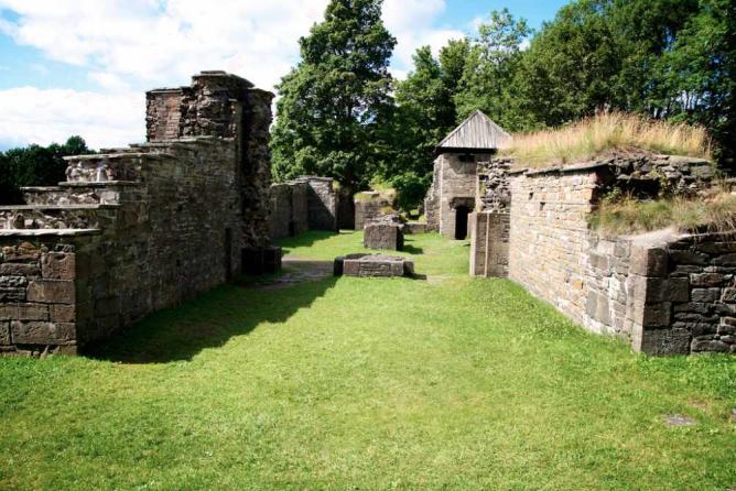 The ruins at Hovedøya © Aktiv I Oslo.no/Flickr