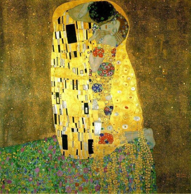 The Kiss, Gustav Klimt | © bm.iphone/Flickr