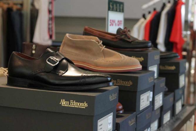 Allen Edmonds Shoes | © Robert Sheie/Flickr