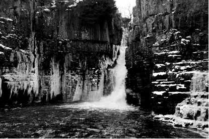High Force waterfall in February | Courtesy of Nell Lewis