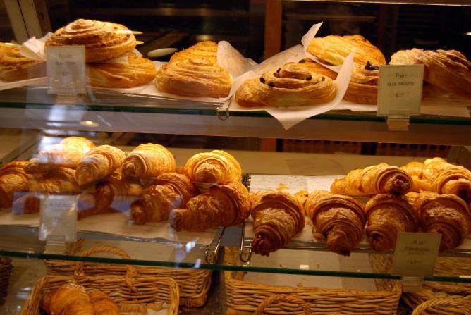 Croissants at Le Panier