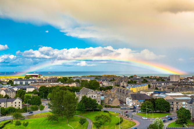 Rainbow over Aberdeen | © Alan Jamieson/Flickr